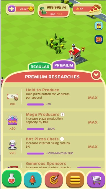 Pizza Factory Tycoon - Idle Clicker Game v2 5 3 MOD APK