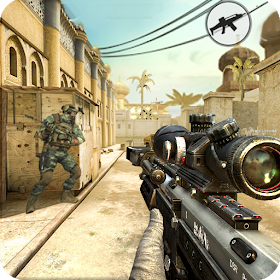 Modern gun shooter sniper killer mod apk unlimited money