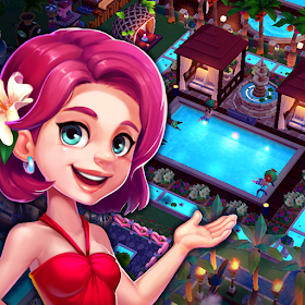 My Little Paradise : Resort Management Game Ver. 1.8.2 MOD APK | Unlimited Gold | Unlimited Diamonds